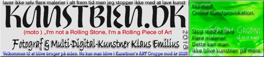 "Multi-Digital-Kunstner Klaus Emilius ""I'm not a Rolling Stone, I'm a Rolling Piece of Art."""